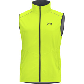 GORE WEAR R3 Windstopper - Chaleco running Hombre - amarillo